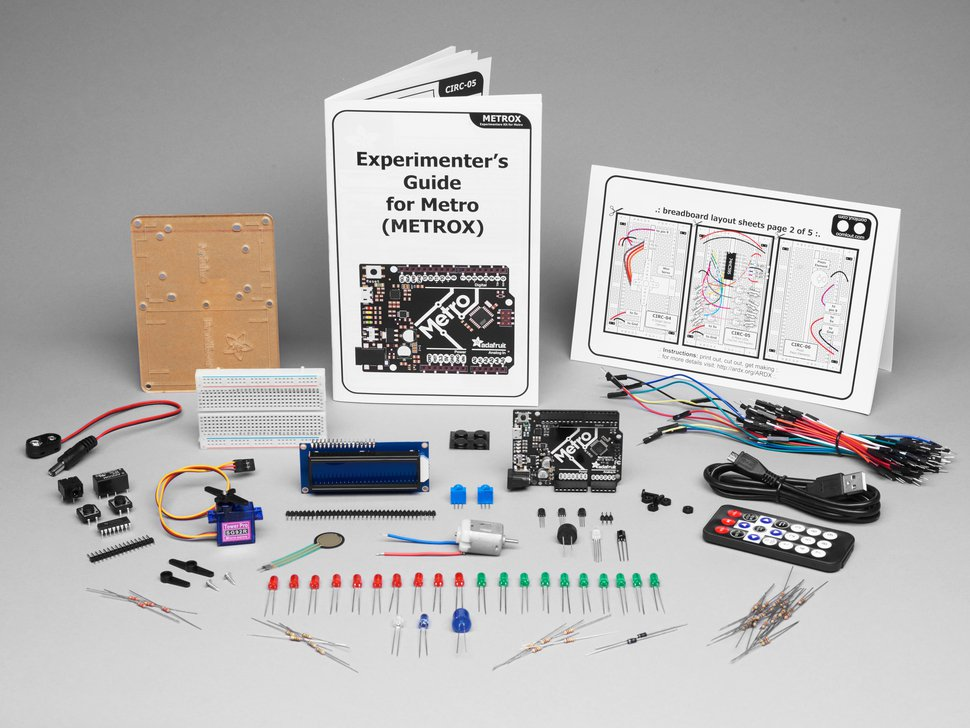 Adafruit MetroX Classic Kit - Experimentation Kit for Metro 328