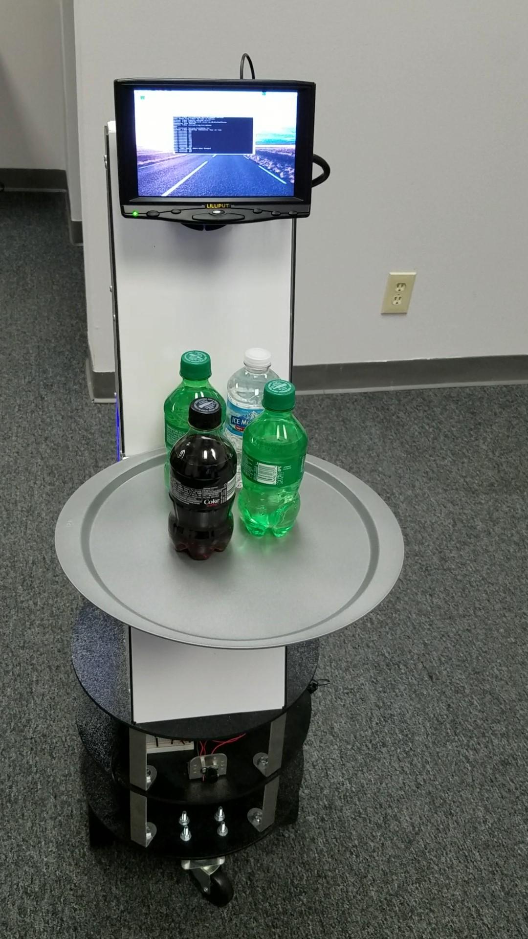 Sonar Unit in Robotwaiter 4