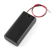 AA Battery Holder (2 Cell) with Switch