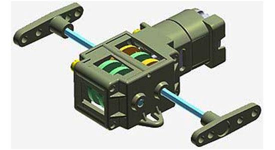 Single Gearbox (4 Speed) - 70167