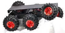 Wild Thumper 6WD all terrain robot chassis