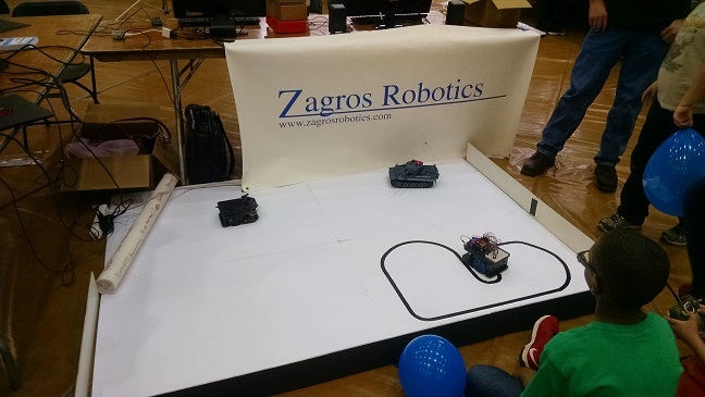 Zagros Booth at Farmington Tech Expo 2015