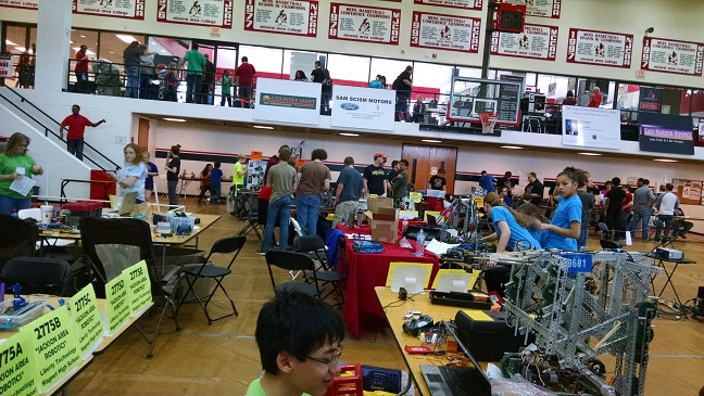 VEX Competition Prep Area