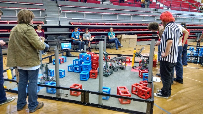 VEX Competition at Tech Expo 2015