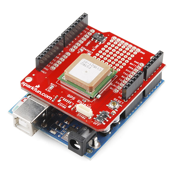 Sparkfun GPS Shield