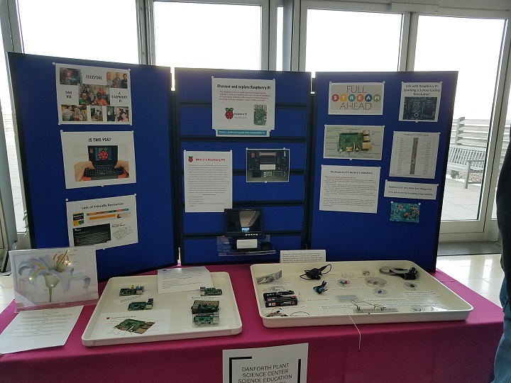 Raspberry Pi Jam 2018 Information Table