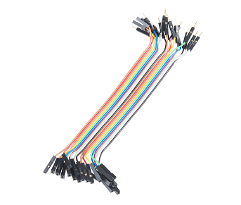 Breadboard Jumper Wires - Connected 6 inch (Male-Female)