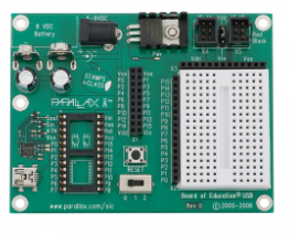 Parallax Board of Education Development Board - USB Version