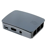 Raspberry Pi 4 B Enclosure Black