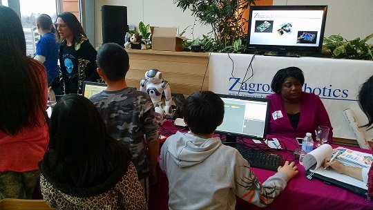 Zagros Booth at Pi Jam