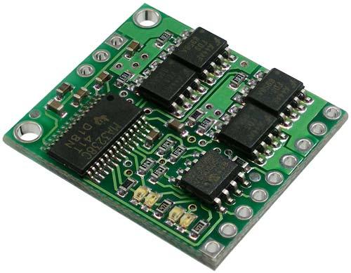 Pololu Low Voltage Dual Serial Motor Controller