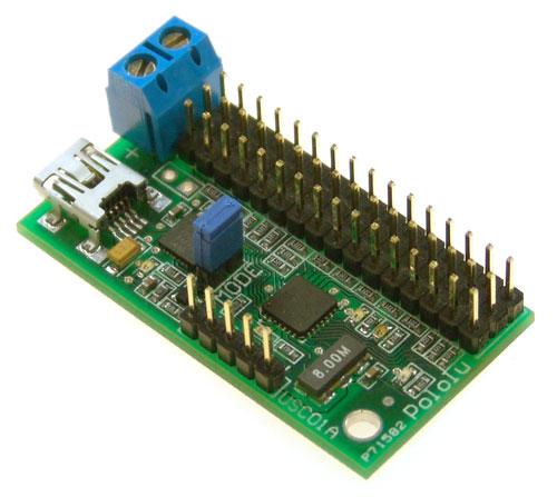 Pololu USB 16 Servo controller
