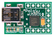Pololu USB-to-serial adapter