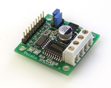 Pololu 3A Motor Controller with feedback