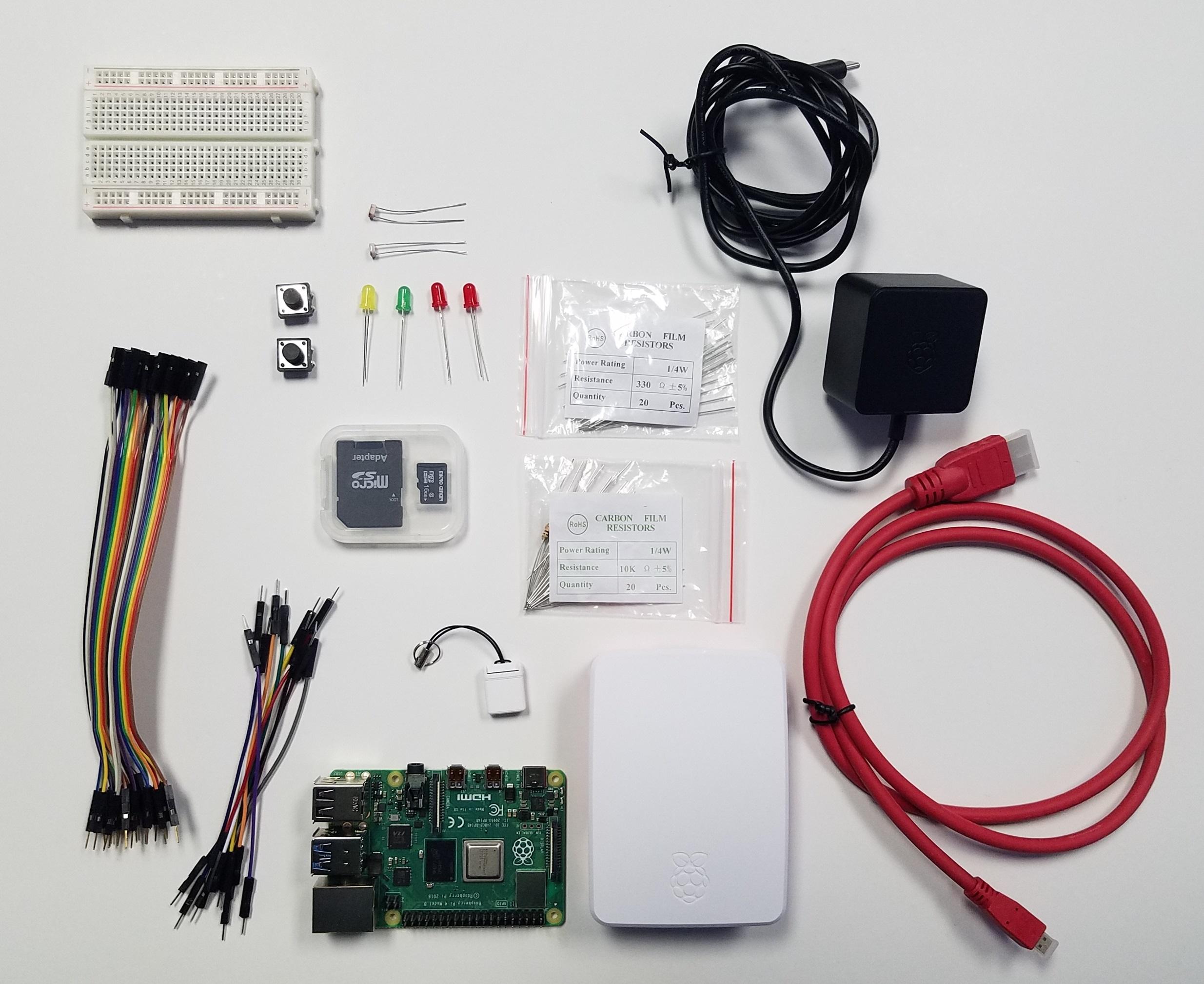Zagros Raspberry Pi 4 B Basic Starter Kit