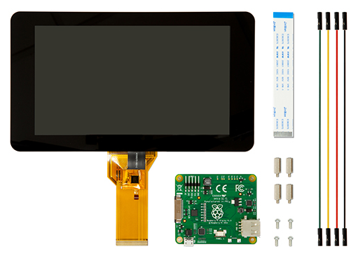 "Raspberry Pi - 7"" Touchscreen Display"