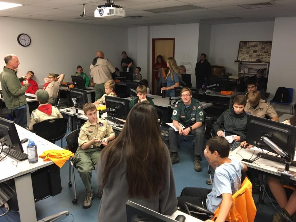 Scouts in Class