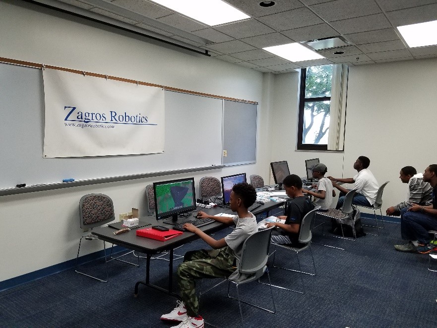 Zagros Raspberry Pi Exhibit