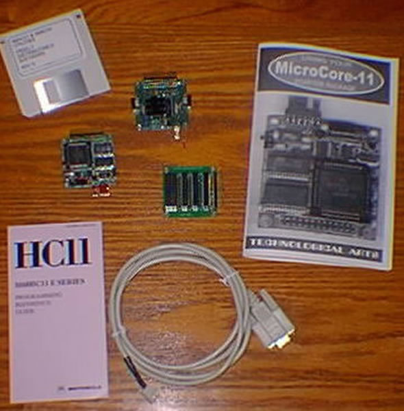 HC11 MC processor with backplane