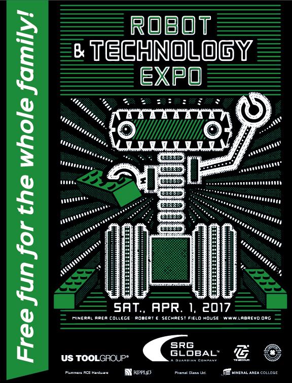 Robot Expo Flyer