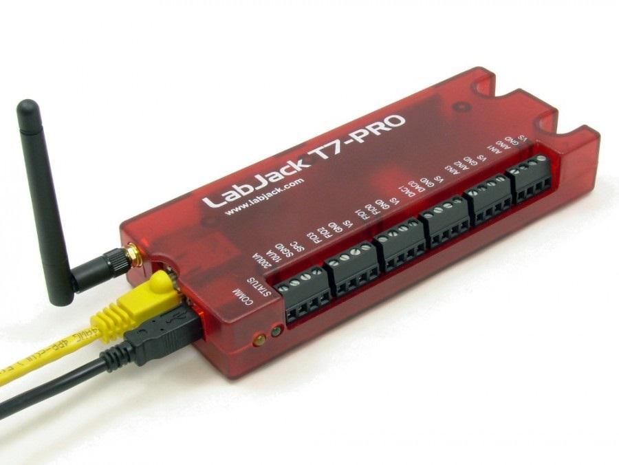 LabJack T7 Pro Ethernet, Wifi DAC